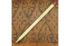 Exzelsior Vintage Ball Point Pen Checked Aluminum Barrel