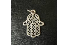Nice Design Judaica Vintage Pendant Baby Amulet Jewelry 1970s
