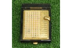 Vintage Pocket Rolodex Phone Adress Book USA Beaded