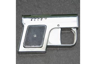 FAGARAS Pistolet Vintage Retro Used Petrol Cigarette Lighter Pistol Gun Shaped