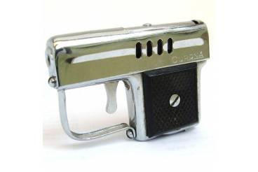 CORONA Vintage Retro Used Petrol Cigarette Lighter Pistol Gun Pistol Shaped