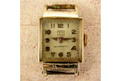 FERO Swiss Made Vintage Ladies Mechanical Wrist Watch Not Working For Spares Repair Signs of Wear All Over No Band As Is
