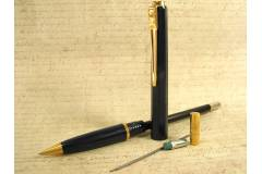 Balograf Epoca Vintage Mechanical Pencil Blue Gold Made in Sweden