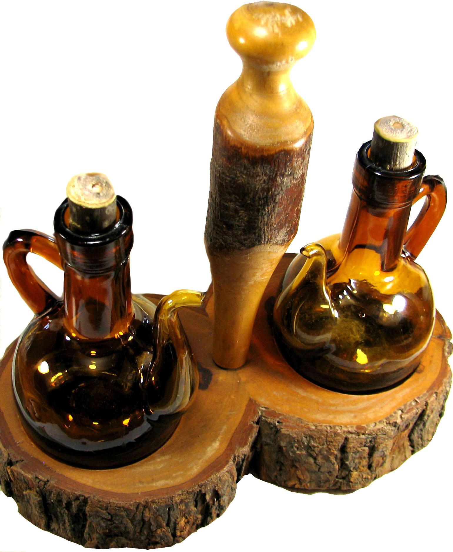 vintage kitchenware egg beaters scales bottle openers oliv art mallorka vintage cruet castor set wood base brown bubble glass