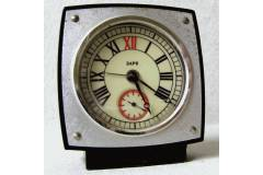 ЗАРЯ Soviet Russia USSR Vintage Alarm Clock Small Travel Size One Spring Works