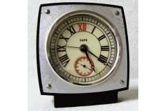 ЗАРЯ Soviet Russia USSR Vintage Alarm Clock Small Travel Size One Spring Works