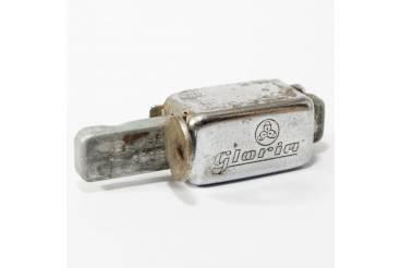 GLORIA Vintage Bicycle Lock Mounted on Frame Locks Spike with Key