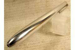 Exzelsior Duplex Vintage German Ball Point Pen 2 Color Retractable Plastic Pouch