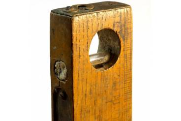 Vintage Wooden Level Carpenter Mason Hand Tool Man Cave Decor Accent
