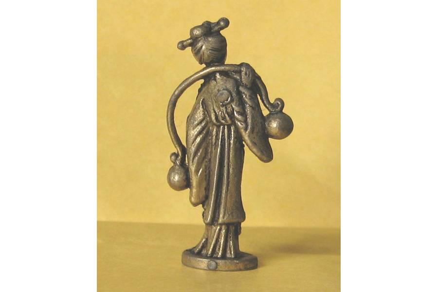 Kinder Surprise Metal Figurine Chinese Fairy Tales Character Aquarius