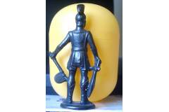 Trojan War Kinder Surprise Vintage Metal Figurine Greek Gladiator Sparta Warrior