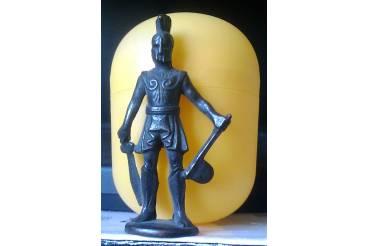 Trojan War Kinder Surprise Vintage Metal Figurine Greek Gladiator Sparta Warrior