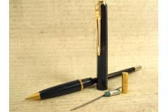 Balograf Epoca Vintage Mechanical Pencil Blue Gold Made in Sweden