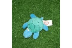 "Turtle Plush Toy Key Chain Ring Loop Charm 3"""