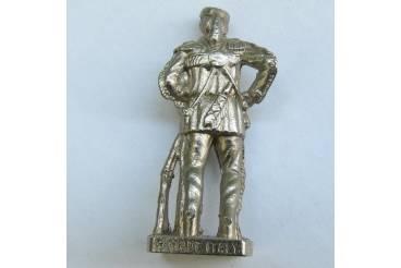 Dave Crocket Kinder Surprise Metal Soldier Figurine