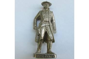 Jasse James Kinder Surprise Metal Soldier Figurine