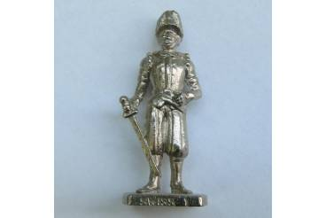 Swiss 1 Kinder Surprise Metal Soldier Figurine Collectible 4cm High