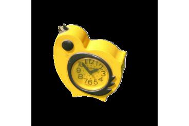 Vintage Alarm Clock Yellow Bird Slava USSR 1970s