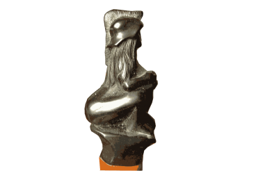Amazon Warrior One of a Kind Hand Carved Figurine Ball Point Pen Bulgaria 1970s