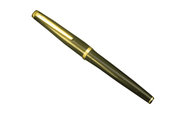 Garant Sator Vintage Fountain Pen Germany 1980s Black Gold Nib