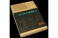 ELKA 51 Vintage Desktop Calculator Bulgaria 1980s Working Green Nixie Tube Display