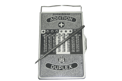 Addiator Duplex Vintage Mechanical Calculator Subtractor