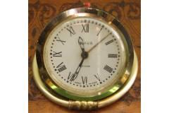 Vintage Alarm Clock Gold Ring Slava USSR 1970s
