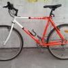 Vintage Bike SCOTT goes 50 km/h downhill