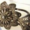 "Antique Silver Tiara - ""Something Old"" Vintage Bridesmaid Wedding Jewelry"